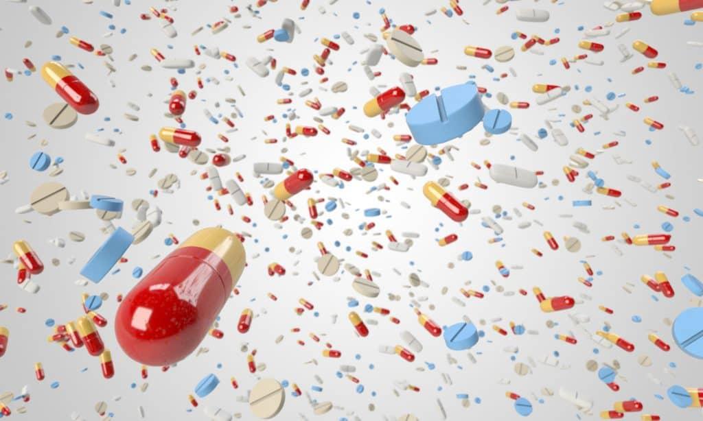 Antibióticos pastillas cápsulas de tratamiento antibiótico