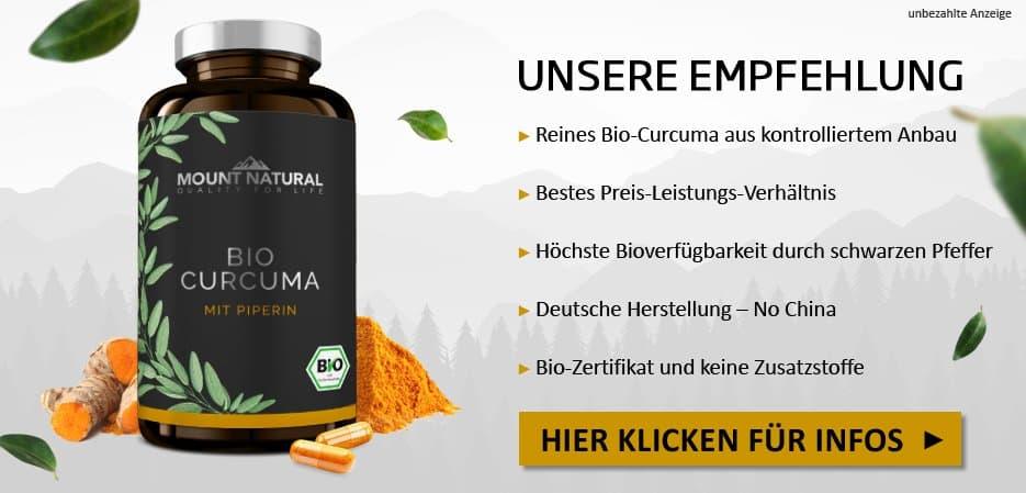 Mount Natural Premium Curcuma Kurkuma Curcumin kaufen Kapseln